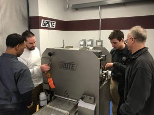 Grote Company comes to support FIT Training! The FIT Program, students and employers are very appreciative of this training and equipment!